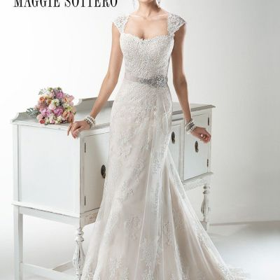 maggie sottero wedding dress | pre-loved wedding dress