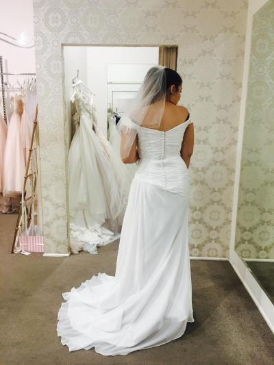 brisbane pre-loved wedding dress