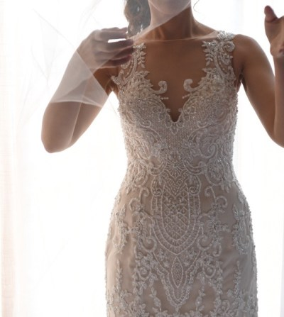 size 6 demetrios wedding dress | pre-loved wedding dresses australia