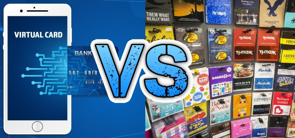 virtual credit cards vs gift cards
