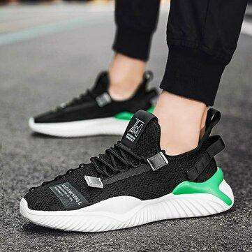 Running Shoes Mesh Fabric Lightweight Breathable Comfy for Men