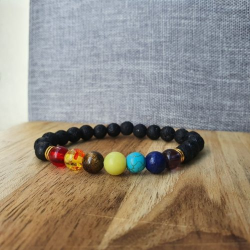 Yoga Bracelet with 7 Reiki Prayer Natural Stones photo review