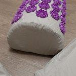 Yoga Acupressure Mat and Pillow Set 8 Fun Colour photo review