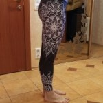Printed Leggings Seamless Yoga & Fitness in 4 Cool Design photo review