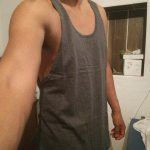 Fitness and Gym Sleeveless Tank Top photo review