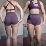 Gym Shorts for Women Seamless Extra Waist 10 Colour photo review
