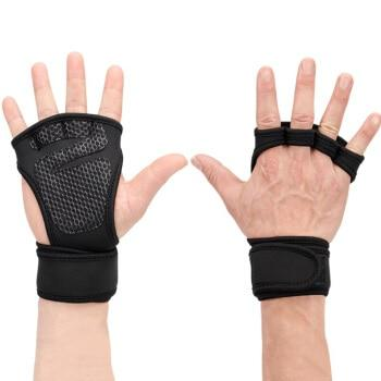 Gym & Fitness Gloves with Grips - Gym Gloves - Only Fit Gear