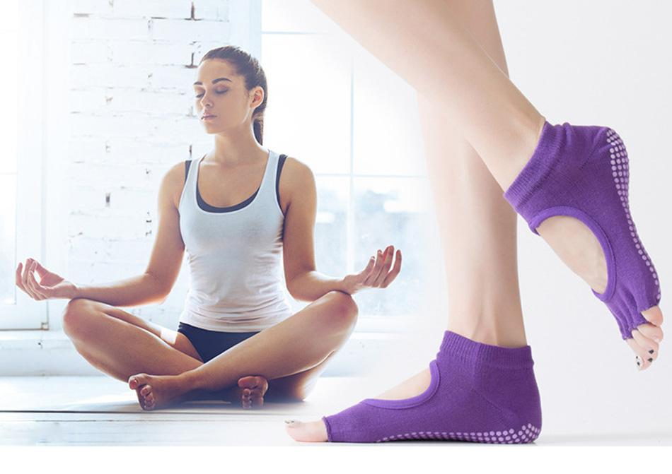 Yoga Socks Anti Slip Grip