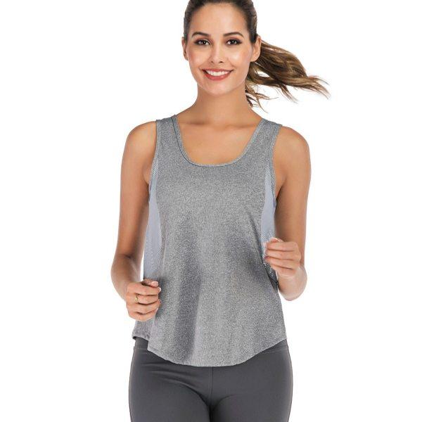 Yoga Sleeveless Crop Top