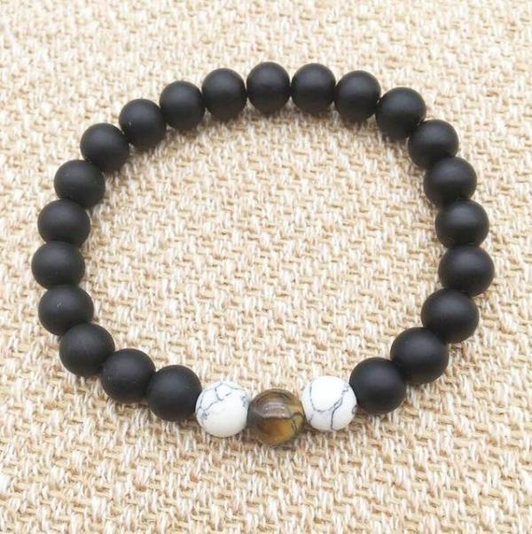 Yoga Reiki Prayer Stone Bracelet - Yoga Bracelet - Only Fit Gear