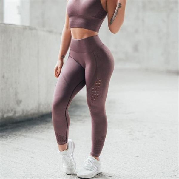 Yoga & Fitness Push Up Seamless High Waisted Leggings 4 Color - Leggings - Only Fit Gear