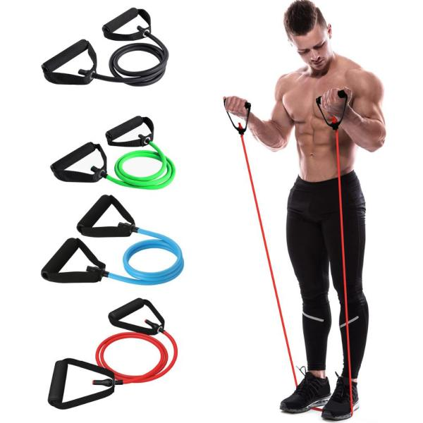 Yoga & Fitness Resistance Bands with Tensile Expander - Resistance Band - Only Fit Gear