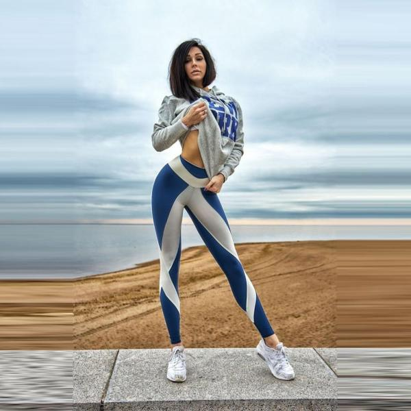 Yoga & Fitness High Waisted Printed Leggings - Leggings - Only Fit Gear