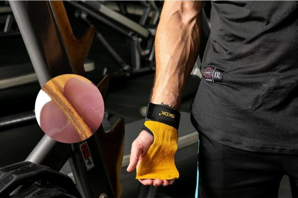 Gym & Fitness Gloves with wrist support & Grips Anti-Skid - Gym Gloves - Only Fit Gear