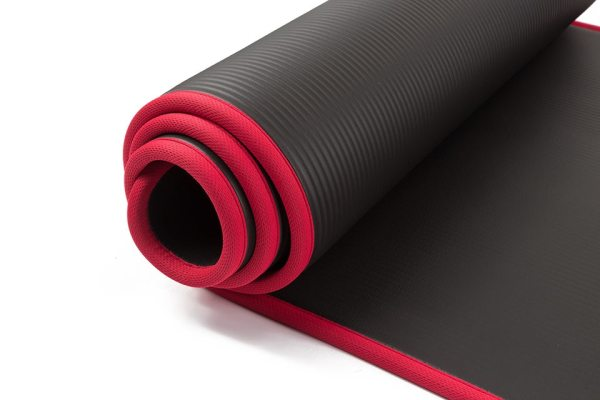 Yoga Extra Thick Non-slip Mat with Bandages