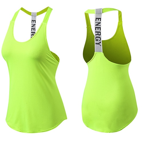 Fitness & Yoga Seamless Tops with Backless