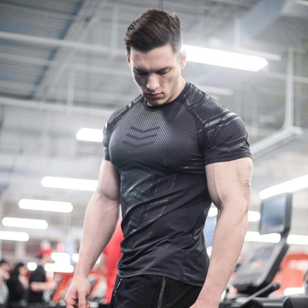 Gym and Fitness Compression T-shirt for Men