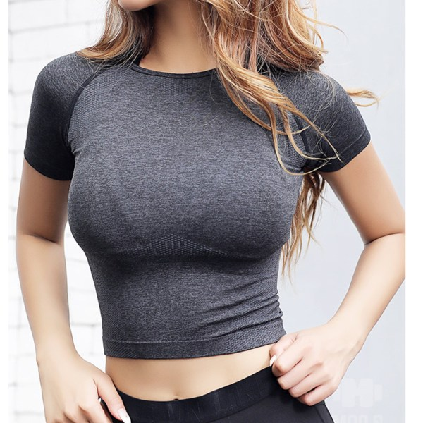 Yoga and Fitness Top Basic Scoop Neck Shirts