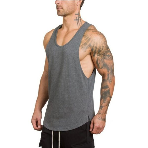 Fitness and Gym Sleeveless Tank Top
