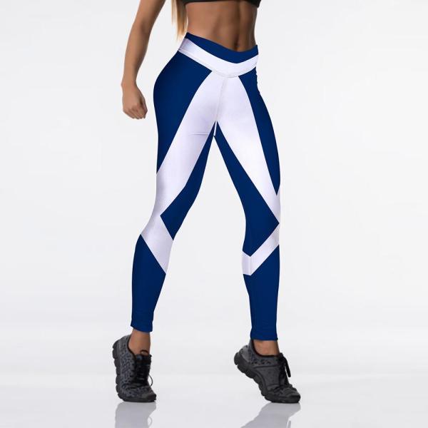 Yoga and Fitness High Waisted Printed Leggings