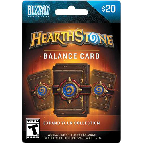 Blizzard Hearstone web
