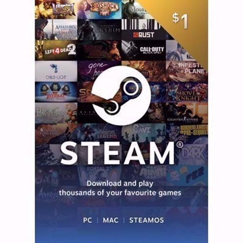 1$ Steam Gift Card
