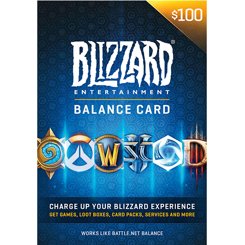 100$ Battlenet Gift Card
