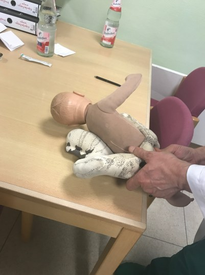 Baby RSA, legs extracted