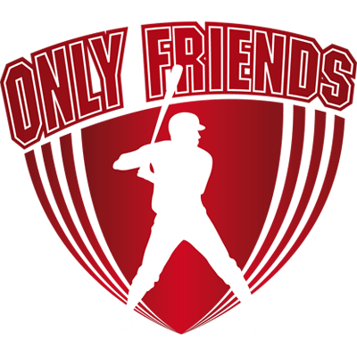 Logo Only Friends Honkbal