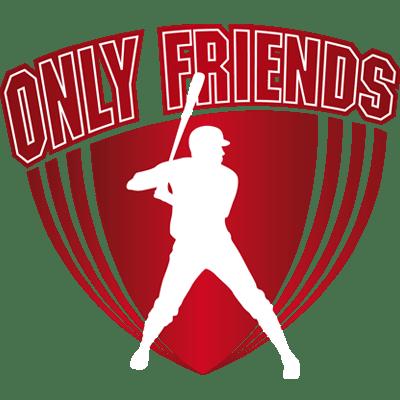Logo Only Friends Honkbal