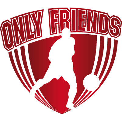 Logo Only Friends Zaalvoetbal