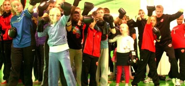 Groepsfoto Kickboksen Spurd Dag
