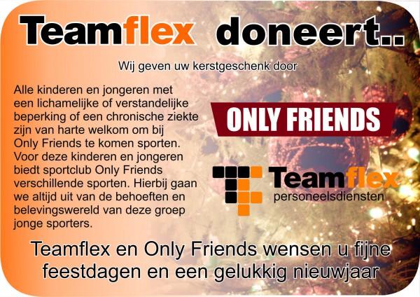 Kerstkaart Teamflex 2011