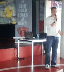 Presentatie Daan Glorie op het Centre