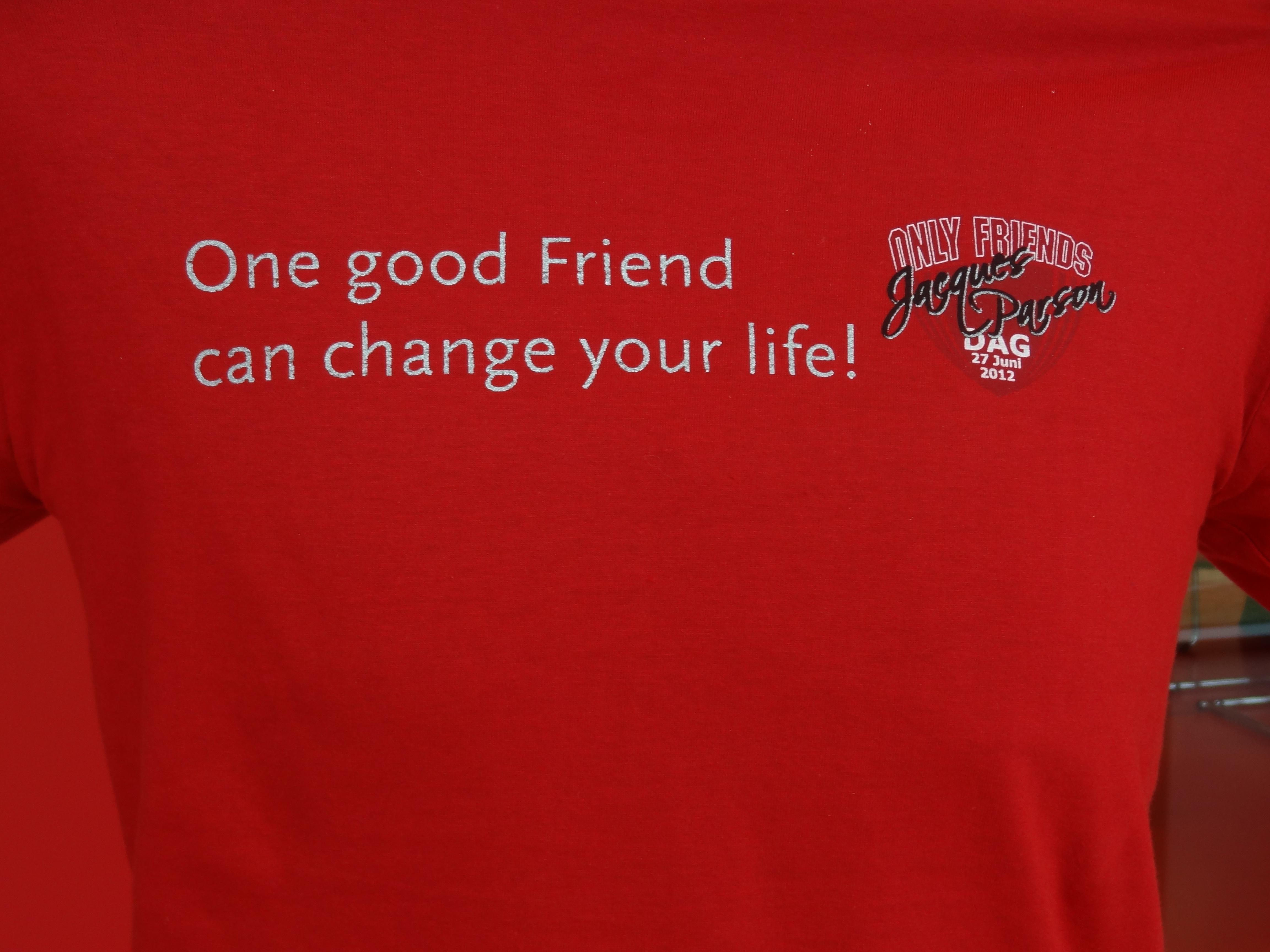 Shirt Jacques Parsondag editie 2012