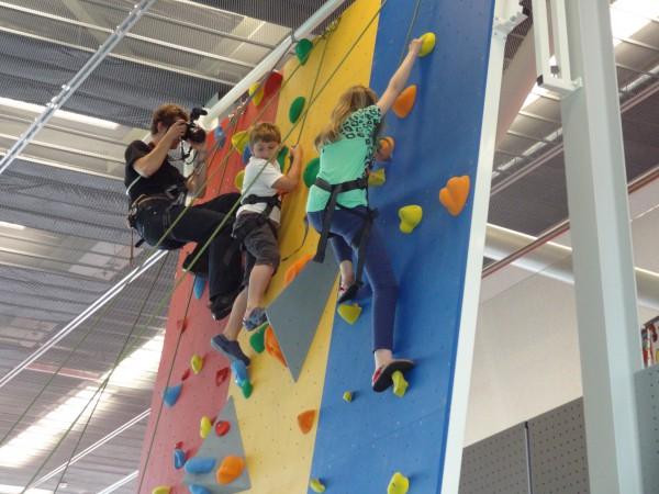 Open dag klimmen bij Only Friends in het Ronald McDonald Centre