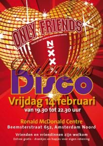 disco flyer valentijn 2014