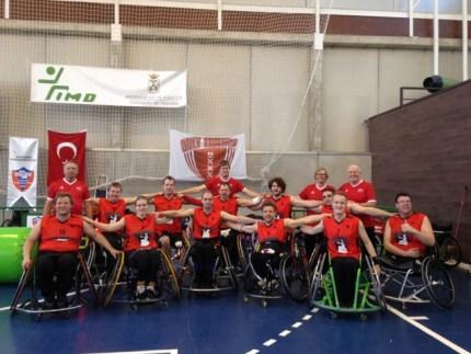 Team in Spanje