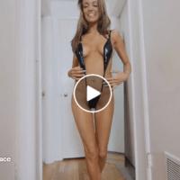 Девојка На Денот 16.05.2017 | Hailey Black suspender