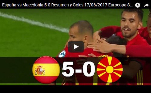 Шпанија 5 – 0 Македонија | 17.06.2017, UEFA Under-21 Championship, Highlights