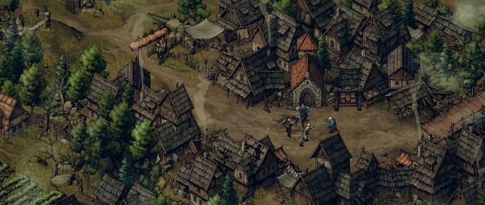Las villas, muy bien construidas