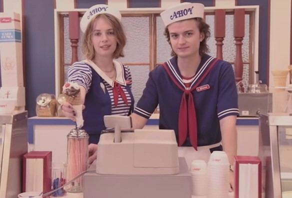 Scoops Ahoy - Stranger Things