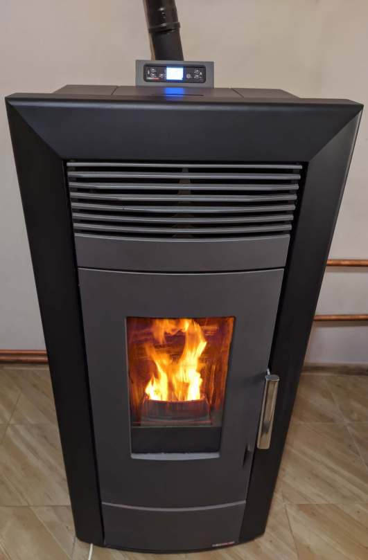 pellet stoves, pellet burning