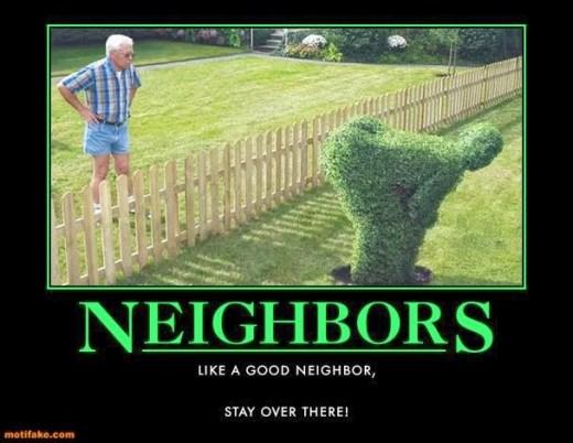 lousy neighbors