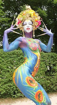 1683471 slide s 6 at the world bodypainting festival painters transform humans into art