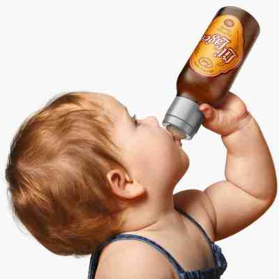 beer baby bottle