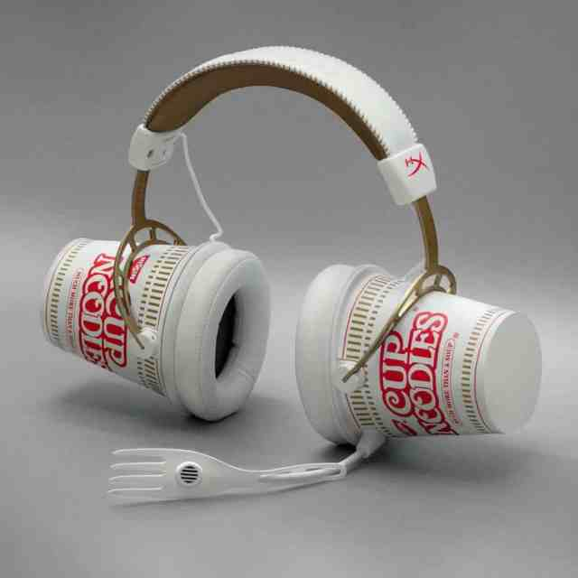 Nissin Limited Cup Noodle Headphones