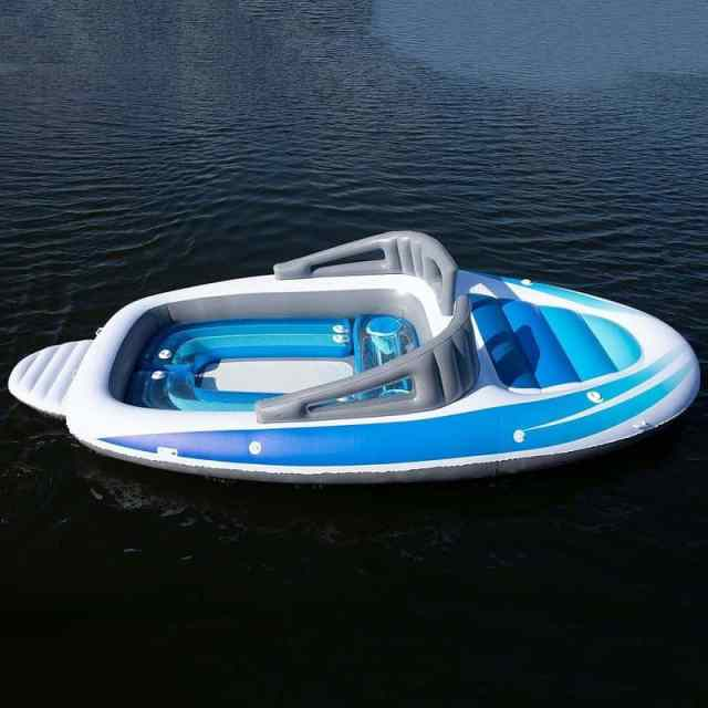 The Inflatable Bay Breeze Boat Party Island from Sun Pleasure