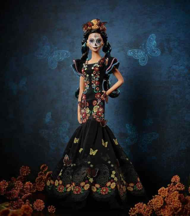 Day of the Dead Barbie doll
