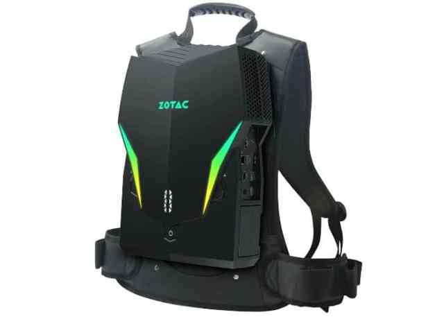 Wearable gaming PC
